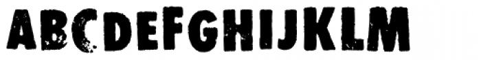 Stomper Alternate Font UPPERCASE
