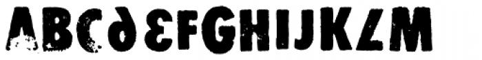 Stomper Alternate Font LOWERCASE