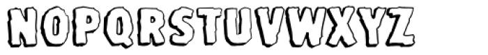 Stone Age Font LOWERCASE
