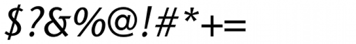 Stone Sans Std Medium Italic Font OTHER CHARS