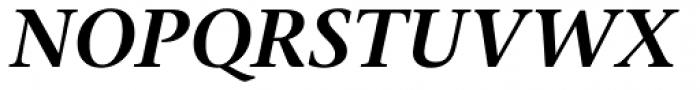 Stone Serif OS SemiBold Italic Font UPPERCASE