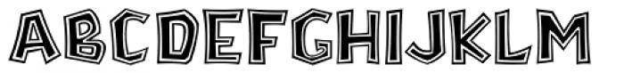 Stonecut JNL Font UPPERCASE