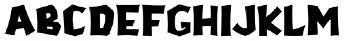 Stonecut Solid JNL Font LOWERCASE