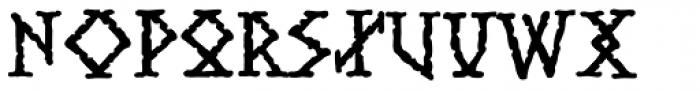 Stonehenge Ruins Font UPPERCASE