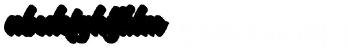 Stonekids Extrude Font LOWERCASE
