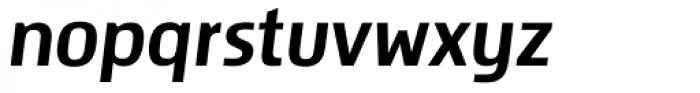 Storm Sans Italic Font LOWERCASE