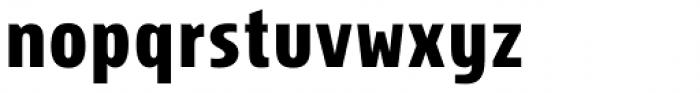 Storm Sans Pro Condensed Bold Font LOWERCASE