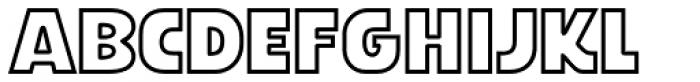 Stormtrooper Armor Font LOWERCASE