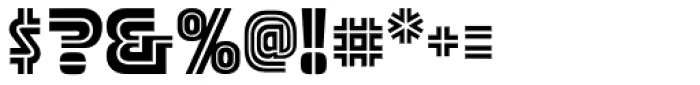 Stormtrooper Blaster Font OTHER CHARS