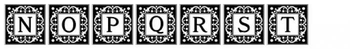 Storybook Initials 1 NF Font UPPERCASE