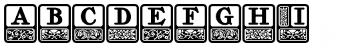 Storybook Initials 1 NF Font LOWERCASE