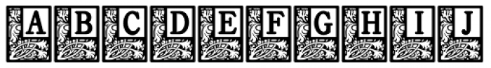 Storybook Initials 2 NF Font UPPERCASE