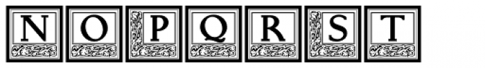 Storybook Initials 2 NF Font LOWERCASE