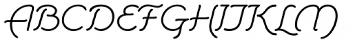 Storybook Regular Font UPPERCASE