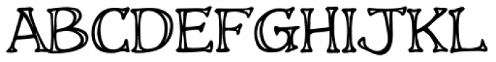 Storyline Engraved Font UPPERCASE