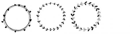 Storyteller Design Elements One Font UPPERCASE