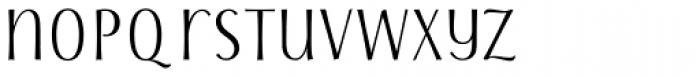 Storyteller Sans Condensed Contrast Font LOWERCASE
