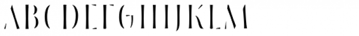 Storyteller Sans Condensed Fill Font UPPERCASE