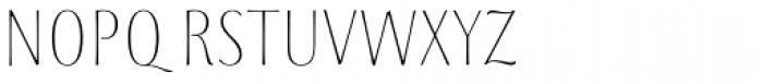 Storyteller Sans Condensed Light Font UPPERCASE