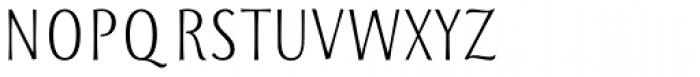 Storyteller Sans Condensed Semibold Font UPPERCASE