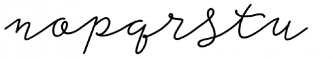 Storyteller Script Bold Casual Font LOWERCASE