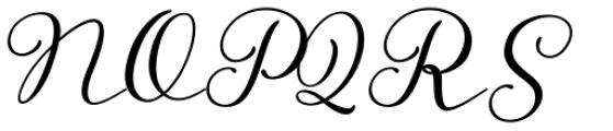 Storyteller Script Casual Font UPPERCASE