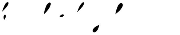 Storyteller Script Regular Fill Font LOWERCASE