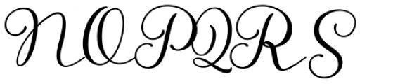 Storyteller Script Regular Font UPPERCASE