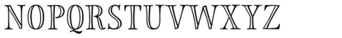 Storyteller Serif Engraved Font UPPERCASE