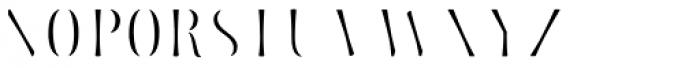 Storyteller Serif Fill Font UPPERCASE