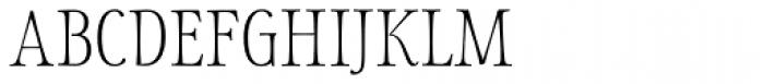 Storyteller Serif Light Font UPPERCASE
