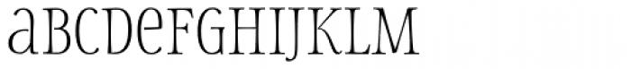 Storyteller Serif Light Font LOWERCASE