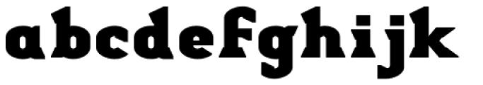 Stout Bold Font LOWERCASE