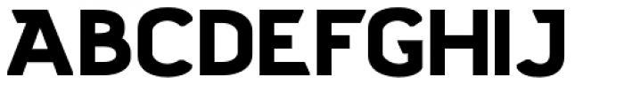 Stout Sans Font UPPERCASE