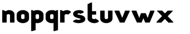 Stout Sans Font LOWERCASE