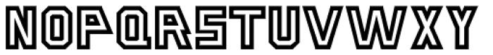 Stove Plate JNL Font UPPERCASE