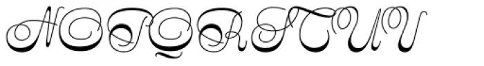 Stradivarius Font UPPERCASE