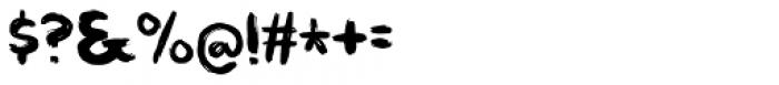 Straffespark Regular Font OTHER CHARS
