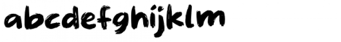 Straffespark Regular Font LOWERCASE