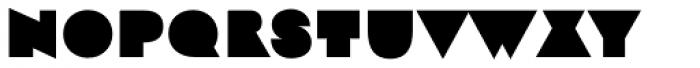 Strand Midnite Font UPPERCASE