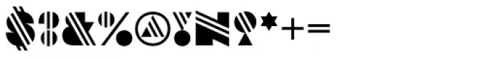 Strand Stripe Font OTHER CHARS