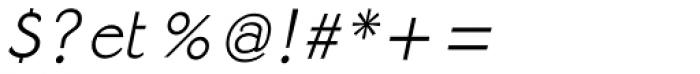 Strangelove Italic Font OTHER CHARS