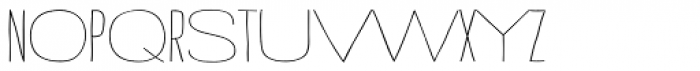 Strangelove Next Mix Font UPPERCASE