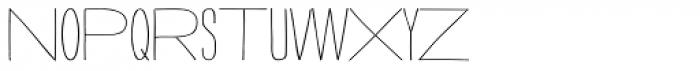 Strangelove Next Mix Font LOWERCASE