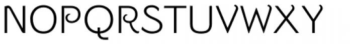 Strangelove Regular Font UPPERCASE