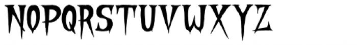 Stranger Creature Regular Font UPPERCASE
