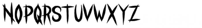 Stranger Creature Regular Font LOWERCASE