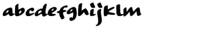 Strangeways Bold Font LOWERCASE