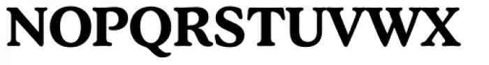 Stratford EF DemiBold Font UPPERCASE