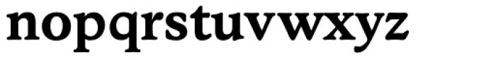 Stratford EF DemiBold Font LOWERCASE